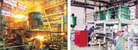 Металлургическая промышленность и фармацевтика